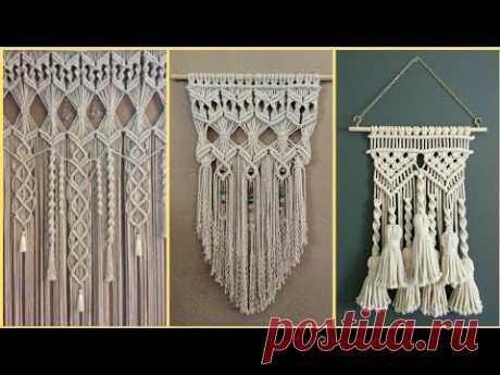 Wall Hanging Macrame Craft Ideas || Diy Macrame ||  Macram Latest Designs