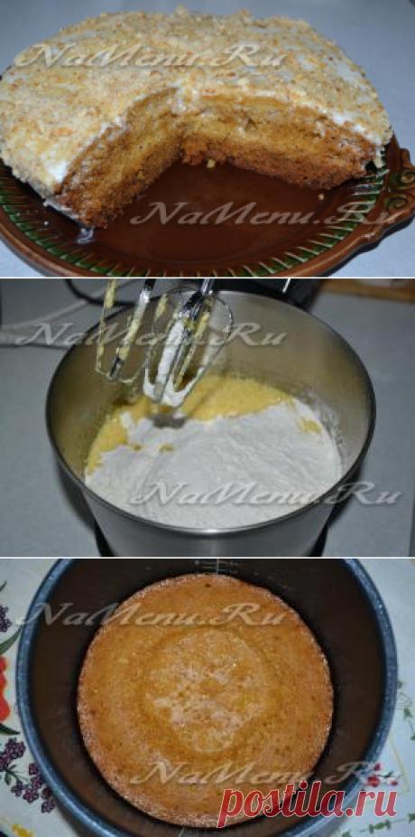 medovik en la multicocción, la receta simple, poshagovyy