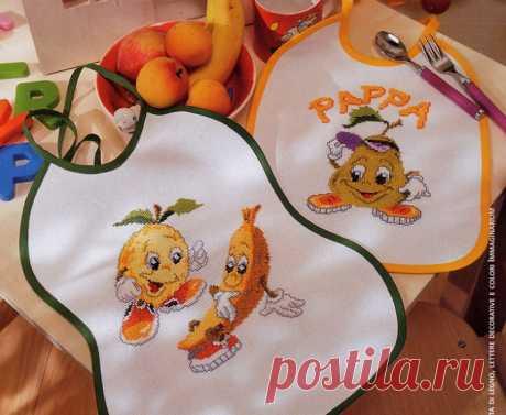 Чудесная вышивка для детей.