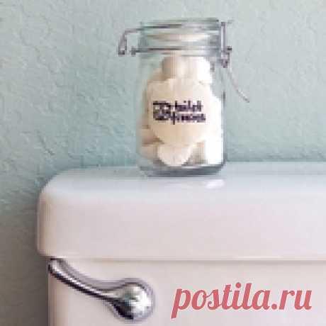 Ароматные бомбочки для... туалета: