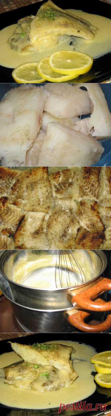 Голландский соус к рыбе. Приготовление..