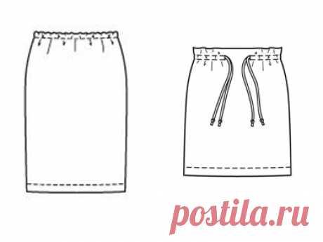 Как сшить юбку на резинке своими руками — Мастер-классы на BurdaStyle.ru