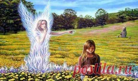 11 признаков того, что вас посещает ангел-хранитель — Бабушкины секреты