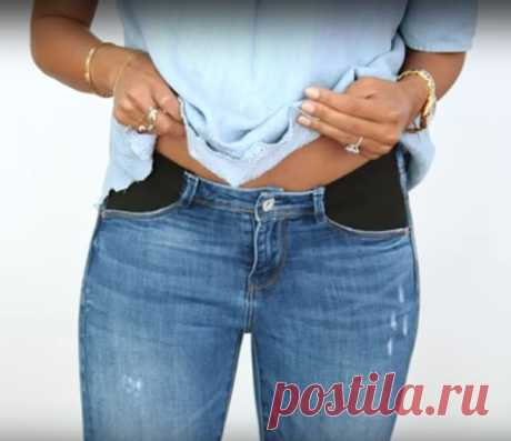 UNUSUAL ALTERATION OF DZHINS\u000d\u000aUNUSUAL ALTERATION OF DZHINS \u000d\u000a\u000d\u000aThis idea is useful to many women, not only future mothers! Alteration of old jeans — in my opinion, an eternal subject. What is only not sewed from the favourite jeans things which served the term … Today you will learn to alter jeans in a special way. The way is easy, practical, and still will allow to save not bad!\u000d\u000aIf you wait for the kid, it is better not to find ideas … By means of this reception it is possible to adjust jeans which steel of a tesnov on a figure...