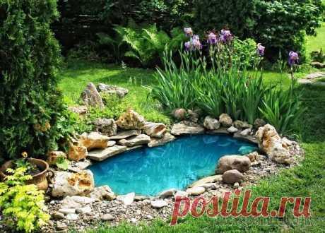 20 вдохновляющих примеров декоративных водоемов, которые каждый сможет создать на своём садовом участке Дача - это не только то место, где можно выращивать огурцы. Дача - это еще и то место, где можно хорошенько отдохнуть.А отдыхать, конечно же, лучше в покое, тишине и красоте вокруг. Для того, чтобы с...