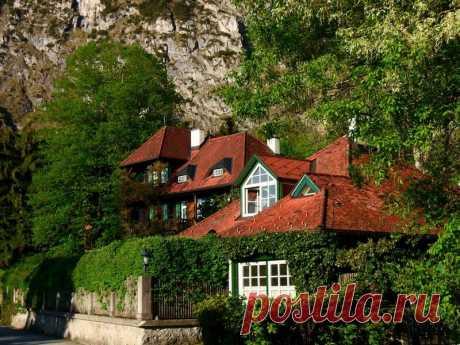 Курорт Sankt Gilgen. Австрия.