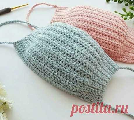 СТОП коронавирус! Вяжем маски! Схема есть! | Anna Gri Crochet | Яндекс Дзен