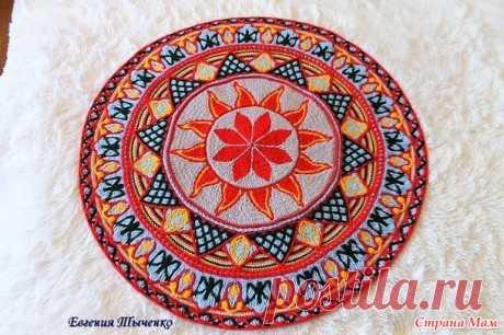 Совместное вязание коврика  - Страна Мам