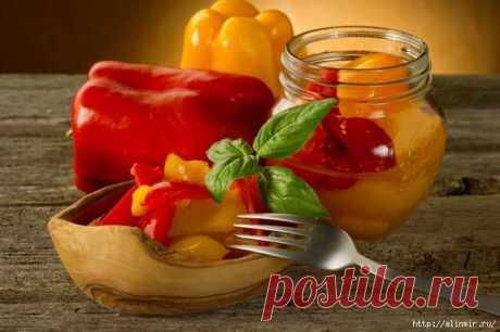 Болгарский перец - 5 рецептов на зиму