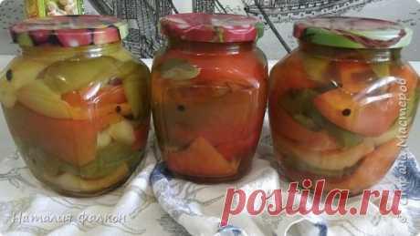Маринованный болгарский перец | Простой и быстрый рецепт без стерилизации | Страна Мастеров