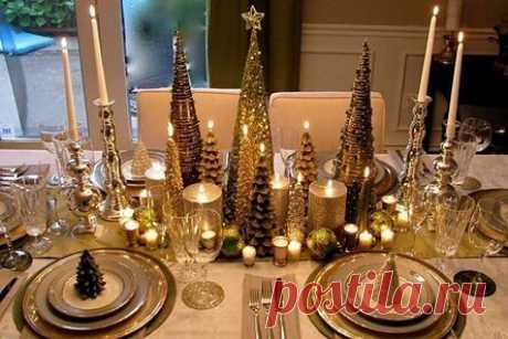 Как украсить стол на Новый год 2021: красивые идеи сервировки