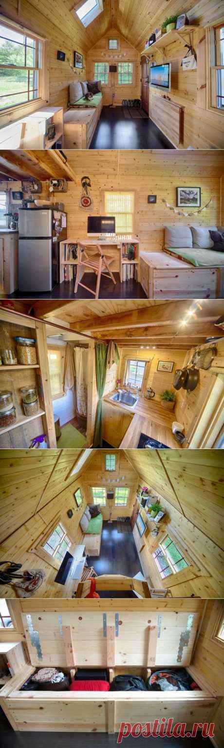 (+1) тема - Дом мечты или как вместить все необходимое в 13 квадратных метров | Интерьер и Дизайн