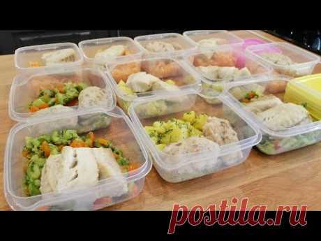 Готовлю на неделю ДИЕТИЧЕСКИЕ БЛЮДА ИЗ РЫБЫ: суп, паровые котлеты, запеченное филе