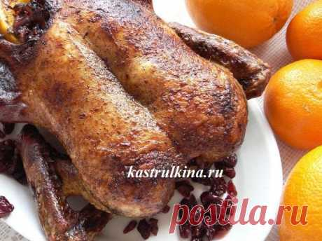 Самый простой рецепт утки с апельсинами в духовке