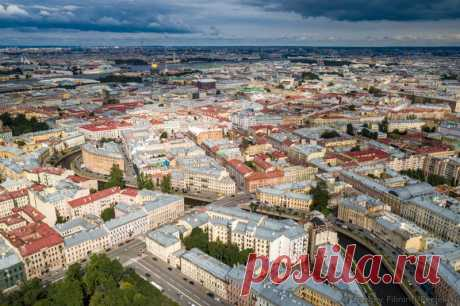 St. Petersburg from height
