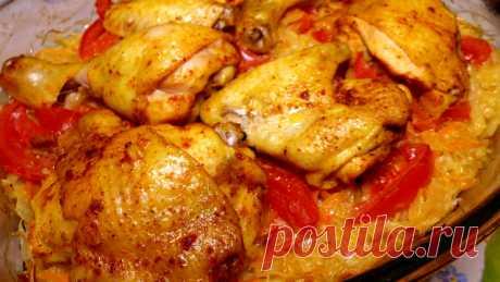 Курица с капустой в духовке – пошаговый рецепт с фотографиями