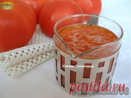 Как приготовить томатный соус в домашних условиях (рецепт с фото)   RUtxt.ru