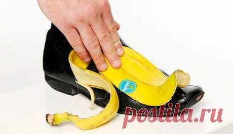 Использование банановой кожуры в хозяйстве | Полезные советы