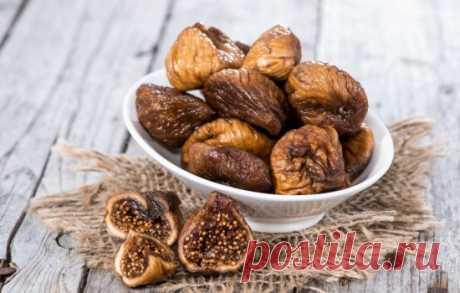 Польза сушеного инжира, возможный вред, кому сушёные инжир