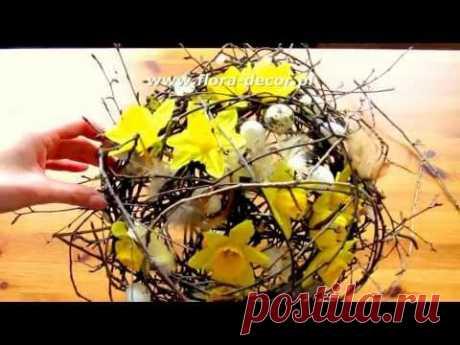 Jak zrobić bukiet z kwiatów i kryzę krok po kroku