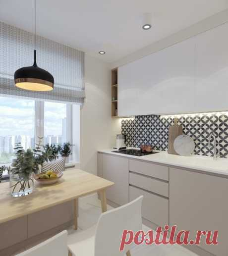Трехкомнатная квартира, 71 м2 Дизайн: Ольга Артамцева Смотреть полностью: