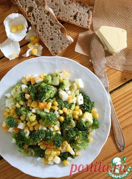 Салат из брокколи – кулинарный рецепт