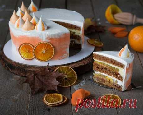 Морковный торт - самый простой и вкусный рецепт - Дом Десертов
