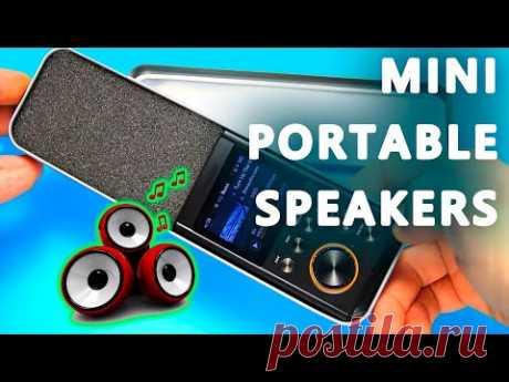 Как сделать MP3 колонку. DIY Мини Портативные Колонки - YouTube