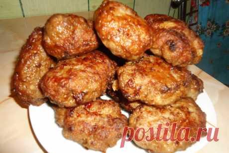 Мясные котлеты - Лучший сайт кулинарии