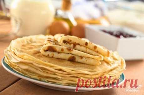 Вкусные блины на кефире - пошаговый рецепт с фото на Повар.ру