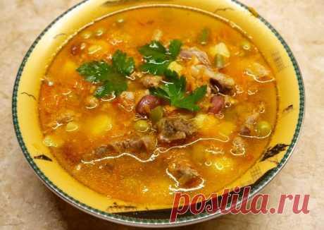 (4) Английский суп с фасолью - пошаговый рецепт с фото. Автор рецепта Domaochvkusno . - Cookpad
