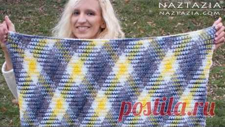 DIY Tutorial - How to Crochet Planned Pooling Technique for a Super Scarf and Afghan Blanket