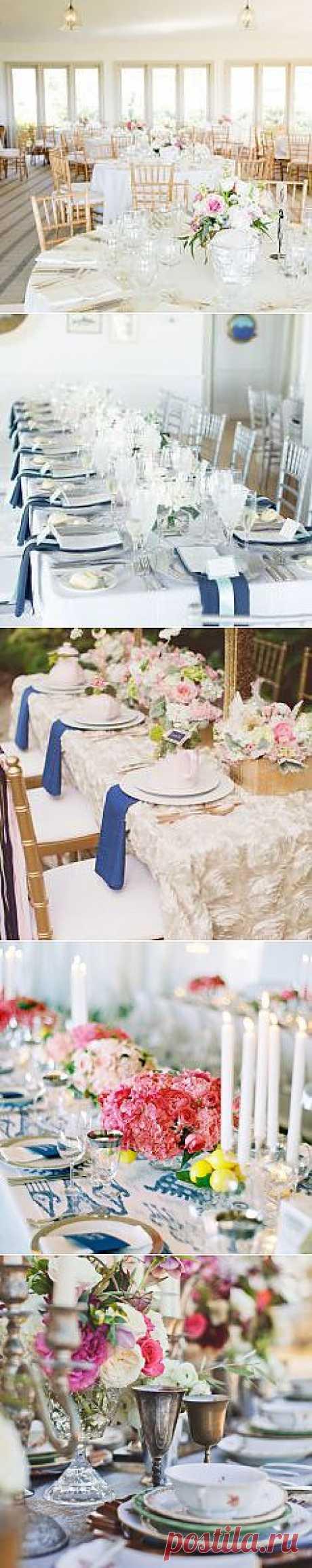 Свадебная сервировка в деталях - WeddyWood