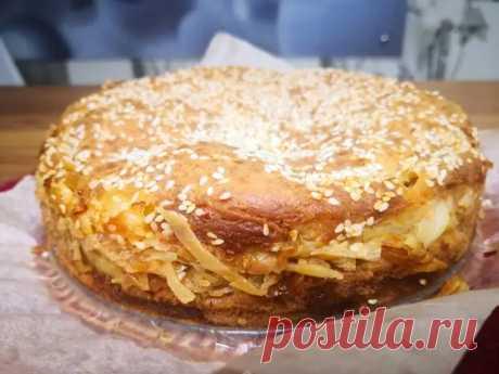 Заливной пирог с капусты - Четыре вкуса - медиаплатформа МирТесен