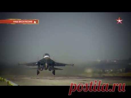 Танцующий штангист Су-34: фантастические кульбиты новейшего бомбардировщика - YouTube