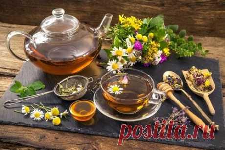 Витаминный чай и сборы для поднятия иммунитета