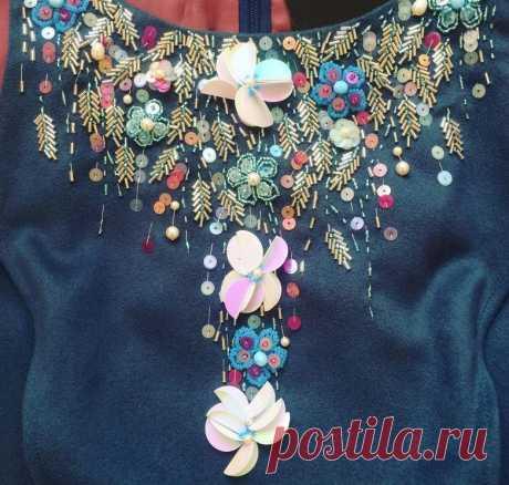 Вышивка по одежде нитками своими руками: схемы для начинающих рукодельниц