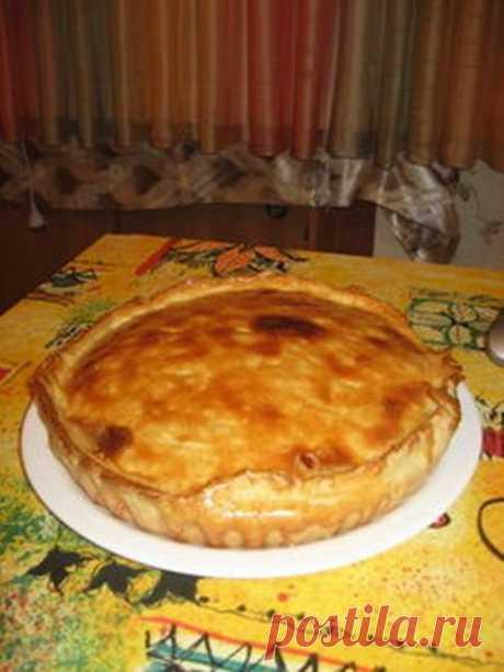 Изумительный пирог с фаршем из ленивого слоеного теста - Несладкая выпечка