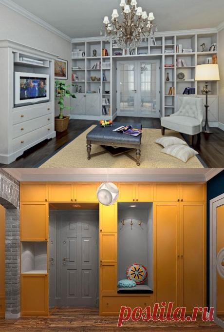Дверь в шкафу или шкаф вокруг двери | Наши дома