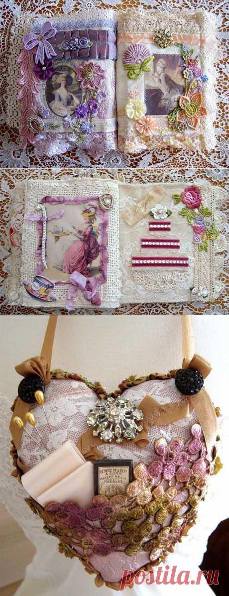 Кружевные творения Terri Gordon. Marie Antoinette Art.