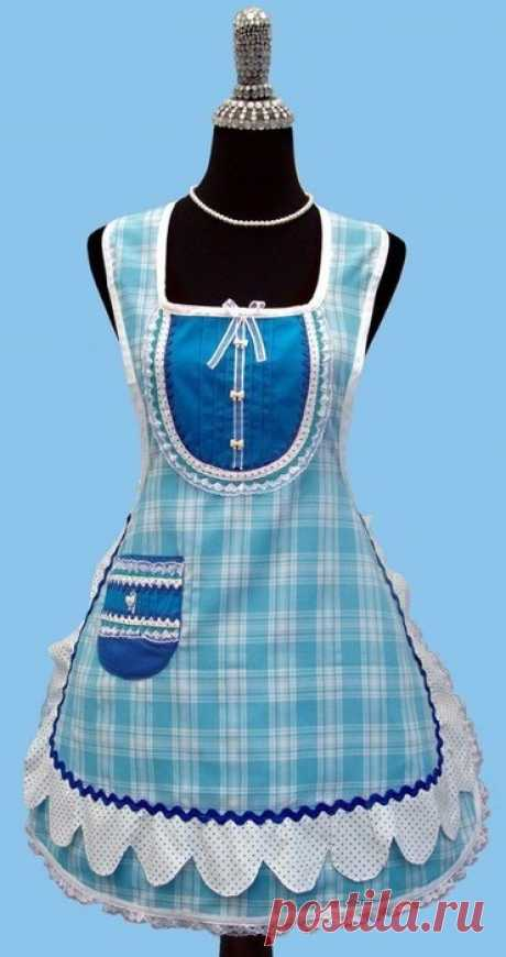 We sew aprons. Ideas and patterns.