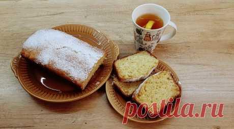 Лимонный кекс - InVkus
