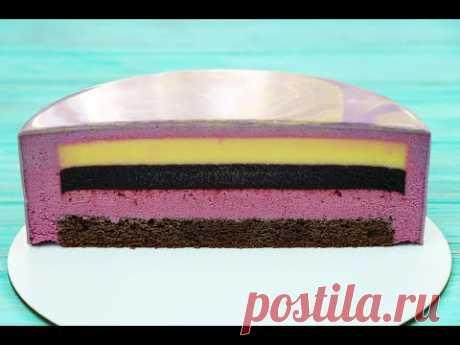 МУССОВЫЙ ТОРТ✧Вкус ЛИМОН–ЧЕРНИКА–ЧЁРНАЯ СМОРОДИНА✧ LEMON BLACKBERRY BLACK CURRANT Mousse Cake Recipe