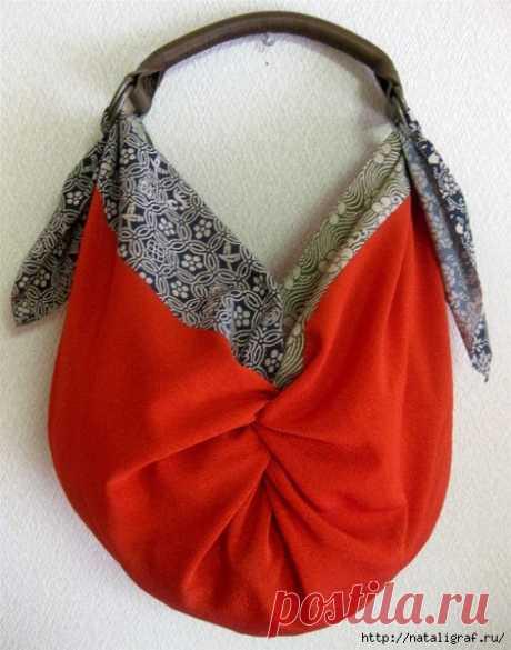 Японские сумки Furoshiki со схемами | ШПИЛЬКИ