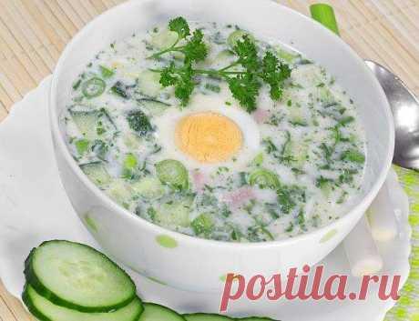 Las sopas frías - las recetas Simples Овкусе.ру