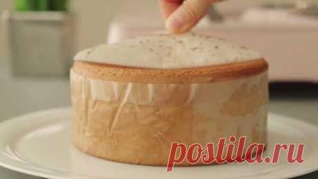 Необычный бисквит без духовки, который не мнется. 🥮 | Бунбич готовит | Яндекс Дзен