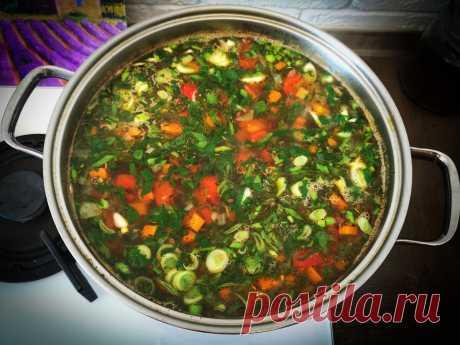 Рецепт супа от моего мужа, вкуснее чем борщ, готовы есть его каждый день   Ракушка   Яндекс Дзен