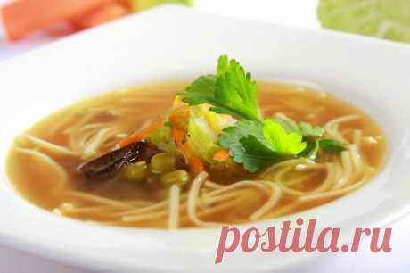 Вегетарианский бульон без мяса – пошаговый рецепт с фото.