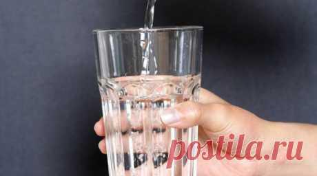 Налей воды, и...нет гипертонии!