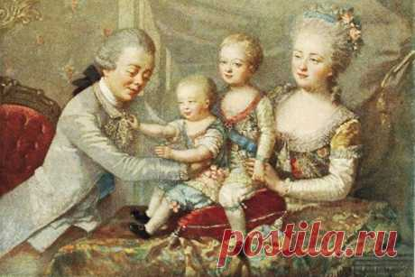Инструкции Екатерины II по воспитанию внуков / Малютка
